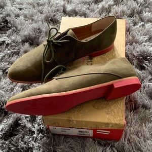 """American Rag Shoes - American Rag NEW faux suede """"Stanny"""" lace oxfords"""